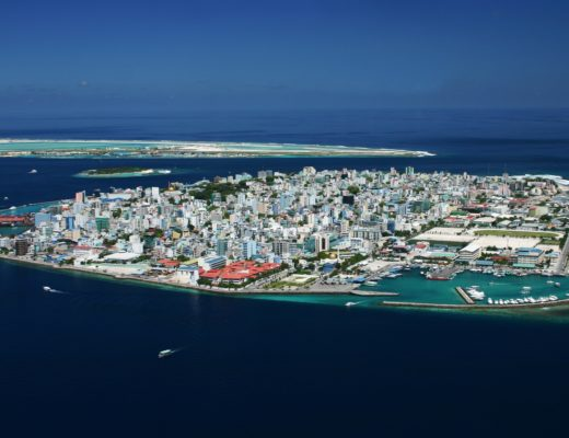Aerial view of Male'
